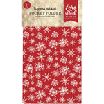 Carta Bella Paper - Christmas Collection - Travelers Notebook Insert - Pocket Folder