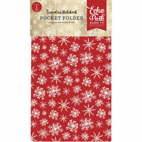 Carta Bella Paper - Christmas Collection - Travelers Notebook Insert - Pocket Folder