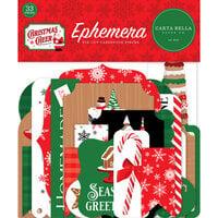 Carta Bella Paper - Christmas Cheer Collection - Ephemera