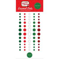 Carta Bella Paper - Christmas Cheer Collection - Enamel Dots
