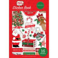 Carta Bella Paper - Christmas Cheer Collection - Sticker Book