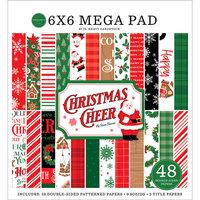 Carta Bella Paper - Christmas Cheer Collection - 6 x 6 Mega Paper Pad