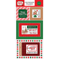 Carta Bella Paper - Christmas Cheer Collection - Chipboard Embellishments - Frames