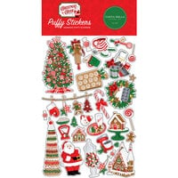 Carta Bella Paper - Christmas Cheer Collection - Puffy Stickers