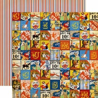 Carta Bella Paper - Circus Collection - 12 x 12 Double Sided Paper - Join the Circus