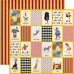 Carta Bella Paper - Circus Collection - 12 x 12 Double Sided Paper - Three Ring Circus