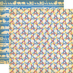 Carta Bella Paper - Circus Collection - 12 x 12 Double Sided Paper - Circus Magic