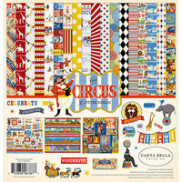 Carta Bella Paper - Circus Collection - 12 x 12 Collection Kit