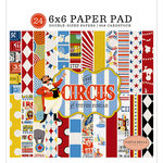 Carta Bella Paper - Circus Collection - 6 x 6 Paper Pad