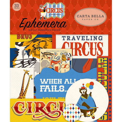 Carta Bella Paper - Circus Collection - Ephemera