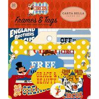 Carta Bella Paper - Circus Collection - Ephemera - Frames and Tags
