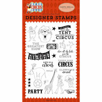 Carta Bella Paper - Circus Collection - Clear Photopolymer Stamps - The Greatest Show