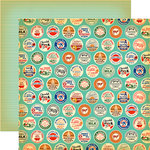 Carta Bella Paper - Country Kitchen Collection - 12 x 12 Double Sided Paper - Farm Milk Caps