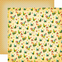 Carta Bella Paper - Country Kitchen Collection - 12 x 12 Double Sided Paper - Kitchen Roosters