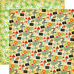 Carta Bella Paper - Country Kitchen Collection - 12 x 12 Double Sided Paper - My Garden