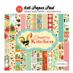 Carta Bella Paper - Country Kitchen Collection - 6 x 6 Paper Pad