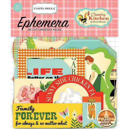 Carta Bella Paper - Country Kitchen Collection - Ephemera