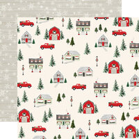 Carta Bella Paper - Christmas Market Collection - 12 x 12 Double Sided Paper - Deck the Halls