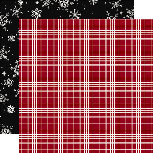 Carta Bella Paper - Christmas Market Collection - 12 x 12 Double Sided Paper - Christmas Plaid