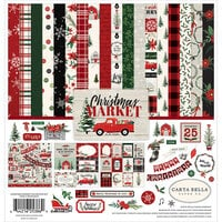 Carta Bella Paper - Christmas Market Collection - 12 x 12 Collection Kit