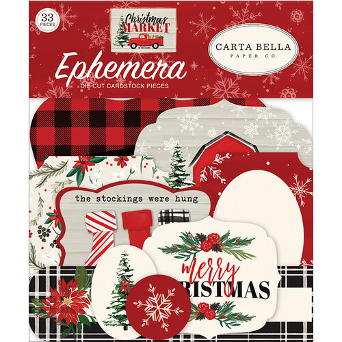 Carta Bella Paper - Christmas Market Collection - Ephemera