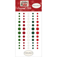Carta Bella Paper - Christmas Market Collection - Enamel Dots