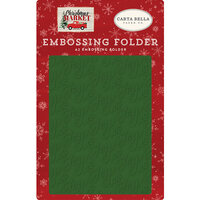 Carta Bella Paper - Christmas Market Collection - Embossing Folder - Joy