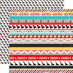 Carta Bella - Circus Party Collection - 12 x 12 Double Sided Paper - Circus Borders