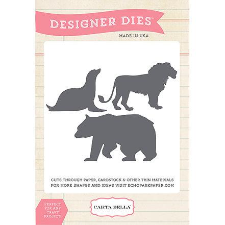 Carta Bella - Circus Party Collection - Designer Dies - Animal Set One