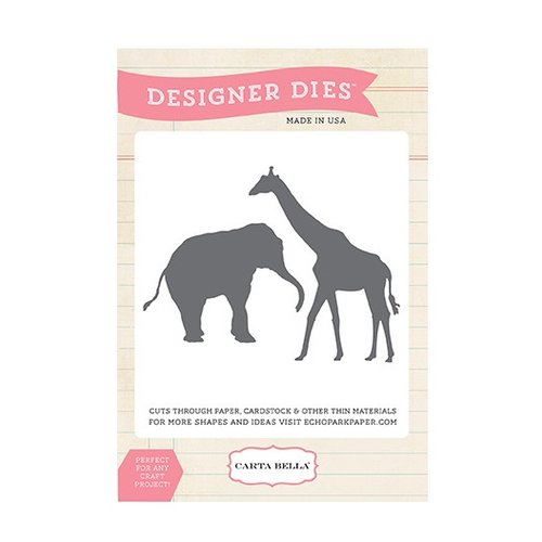 Carta Bella - Circus Party Collection - Designer Dies - Animal Set Two