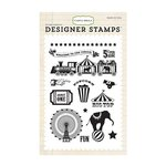 Carta Bella - Circus Party Collection - Clear Acrylic Stamps - Big Top