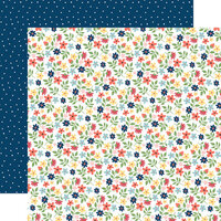 Carta Bella Paper - Craft and Create Collection - 12 x 12 Double Sided Paper - Crafting Floral