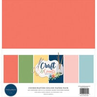Carta Bella Paper - Craft and Create Collection - Solids Kit