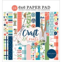Carta Bella Paper - Craft and Create Collection - 6 x 6 Paper Pad