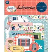 Carta Bella Paper - Craft and Create Collection - Ephemera