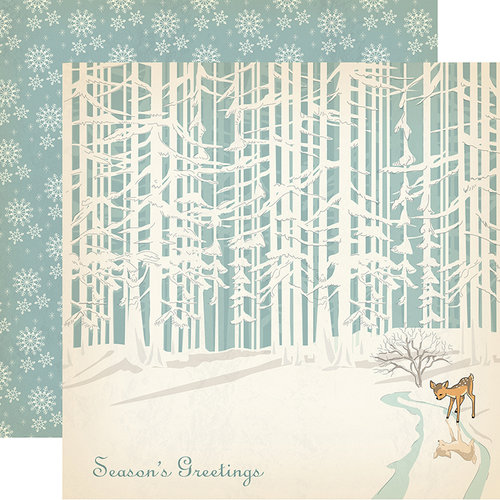 Carta Bella - Christmas Wonderland Collection - 12 x 12 Double Sided Paper - Nature Sing