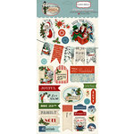 Carta Bella - Christmas Wonderland Collection - Chipboard Stickers