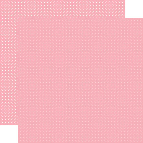 Carta Bella Paper - Dots Collection - 12 x 12 Double Sided Paper - Pink