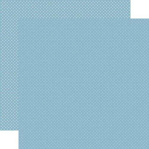 Carta Bella Paper - Dots Collection - 12 x 12 Double Sided Paper - Blue