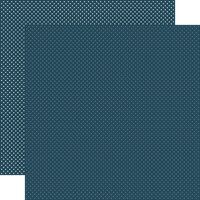 Carta Bella Paper - Dots Collection - 12 x 12 Double Sided Paper - Navy