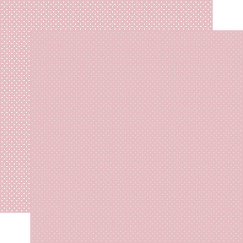 Carta Bella Paper - Dots Collection - 12 x 12 Double Sided Paper - Light Mauve