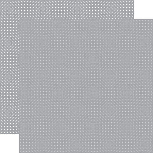 Carta Bella Paper - Dots Collection - 12 x 12 Double Sided Paper - Grey
