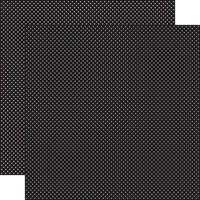 Carta Bella Paper - Dots Collection - 12 x 12 Double Sided Paper - Black
