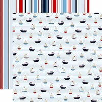 Carta Bella Paper - Deep Blue Sea Collection - 12 x 12 Double Sided Paper - Nautical