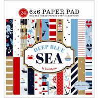 Carta Bella Paper - Deep Blue Sea Collection - 6 x 6 Paper Pad