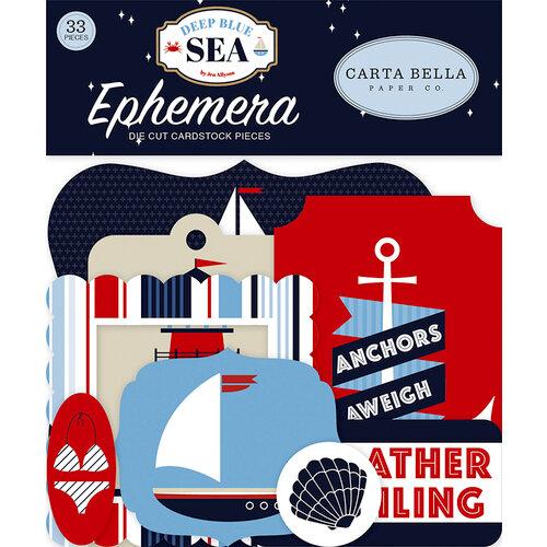 Carta Bella Paper - Deep Blue Sea Collection - Ephemera