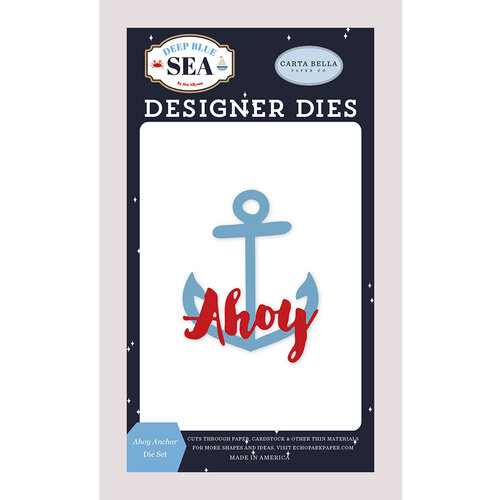 Carta Bella Paper - Deep Blue Sea Collection - Designer Dies - Ahoy Anchor