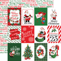Carta Bella Paper - Dear Santa Collection - 12 x 12 Double Sided Paper - 3 x 4 Journaling Cards