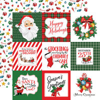 Carta Bella Paper - Dear Santa Collection - 12 x 12 Double Sided Paper - 4 x 4 Journaling Cards