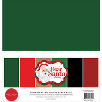 Carta Bella Paper - Dear Santa Collection - 12 x 12 Paper Pack - Solids